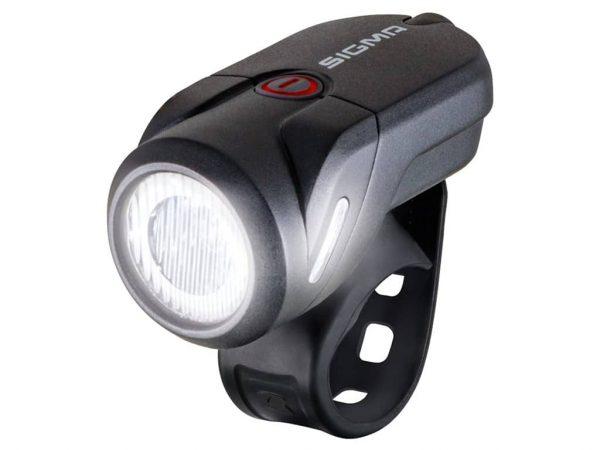 SIGMA Front lys Aura 35 USB Black 1