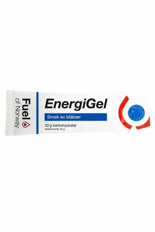 Fuel of Norway Energigel Blåbær 1