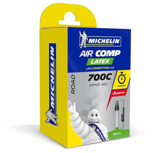 Slange Aircomp Latex A1 22/23-622 Presta 60mm 1