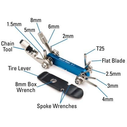 Park Tool IB-3C multiverktøy 2